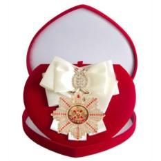 Большой Орден с белой лентой За мужество