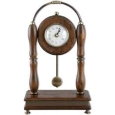Настольные часы на подставки с маятником