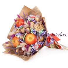 Букет из фруктов и конфет Эксклюзив
