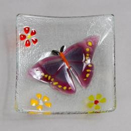 Блюдце «Розовая бабочка»