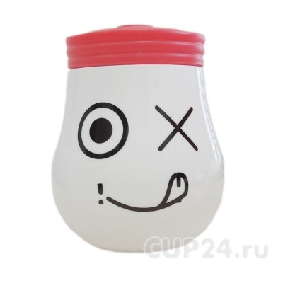Кружка «Лампа» (красная)