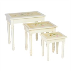 Набор столиков из коллекции Розы