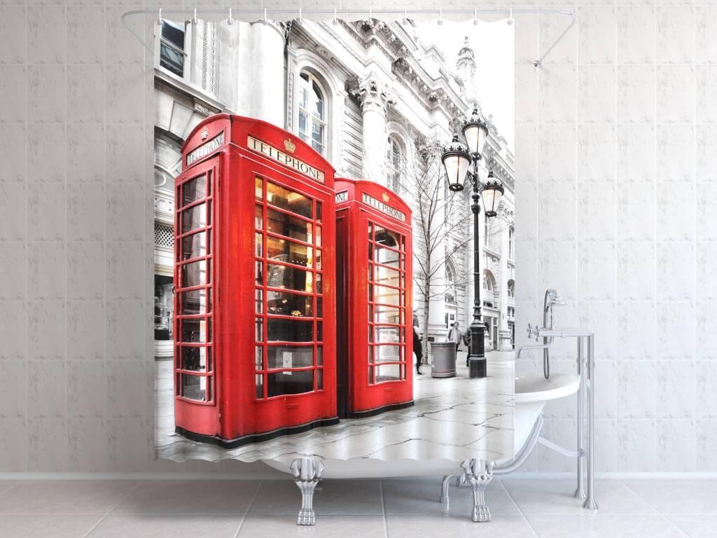 Штора для ванной Телефон в Лондоне
