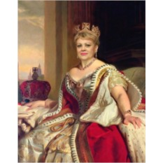 Портрет-фотомонтаж Королева