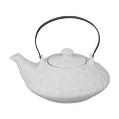 Белый заварочный чайник, объем 800 мл