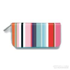 Кожаный кошелёк Colour stripes