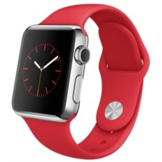 Apple Watch 38mm with Sport Band (цвет Red)