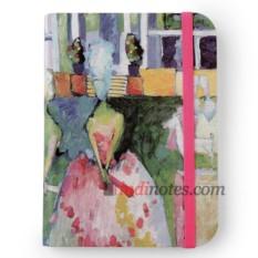 Флорентийская записная книжка «Дамы в кринолинах»