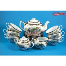 Чайный сервиз на 6 персон Павлин