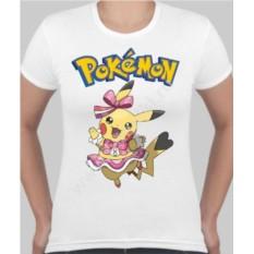 Женская футболка Пикачу девочка