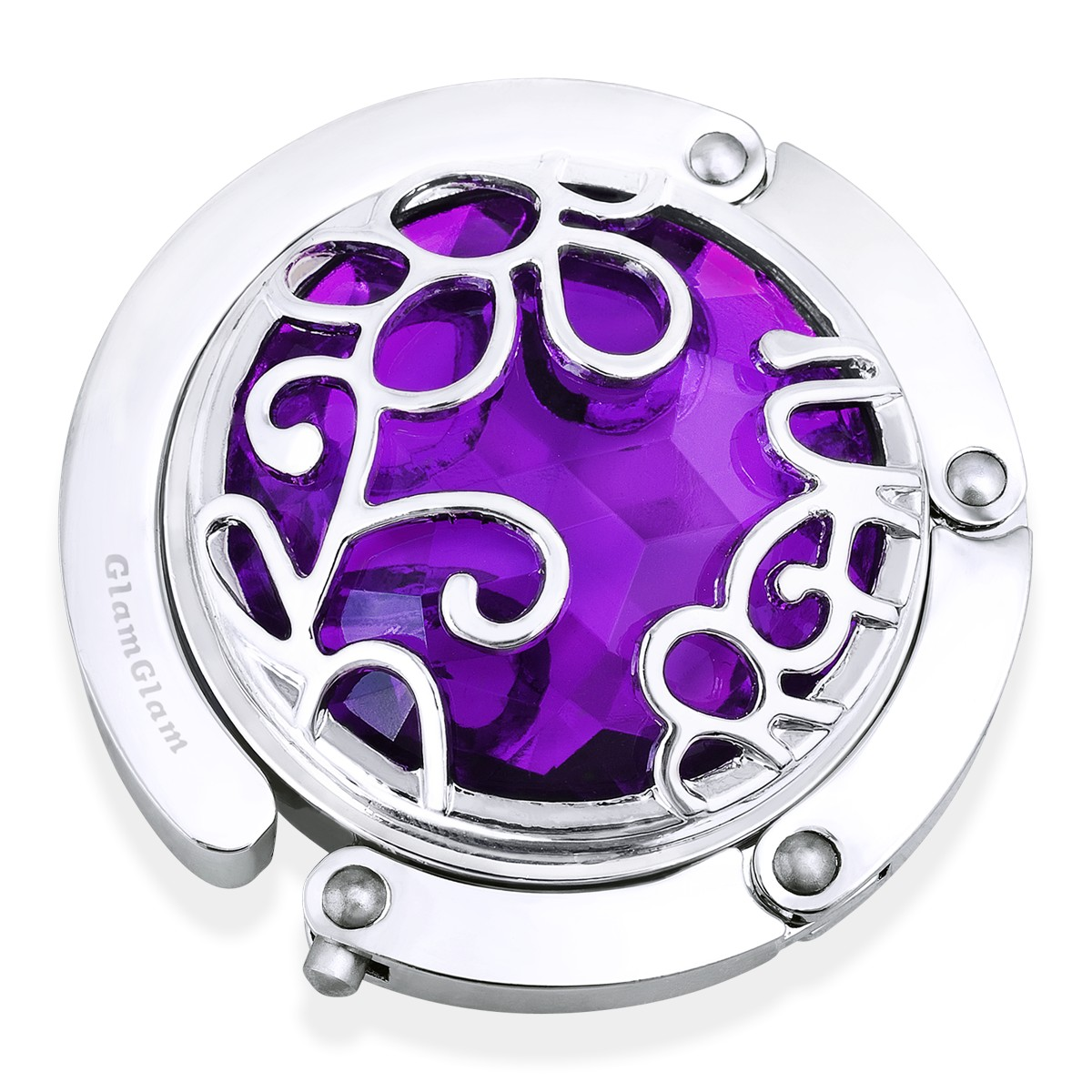 Держатель для сумки Орнамент, фиолетовый
