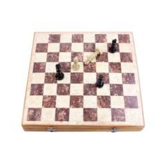 Шахматы из натурального камня 30х30 см
