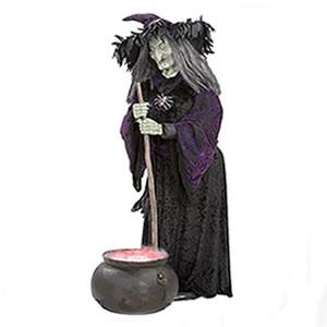 Баба Яга с караоке