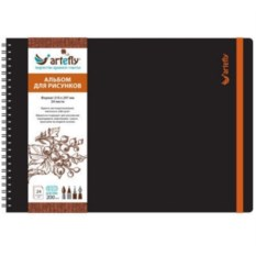 Черный скетчбук Artefly (формат А4)