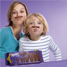 Шоколад Milka Lila Stix