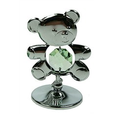 Фигурка декоративная Swarovski Серый медвежонок