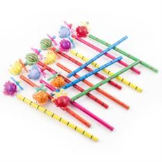 Набор карандашей на пружинке №3
