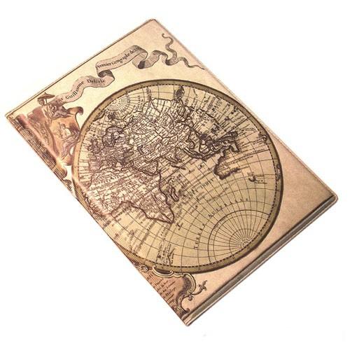 Обложка для паспорта глобус