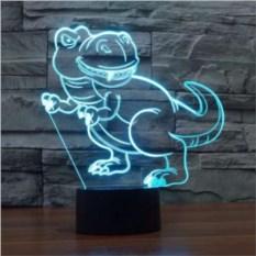 3D лампа Динозавр