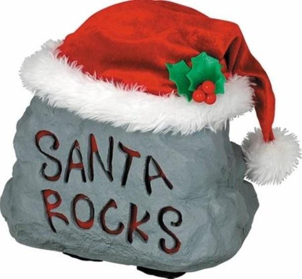 Новогодняя игрушка Пляшущий камень