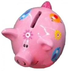Копилка Розовая свинка