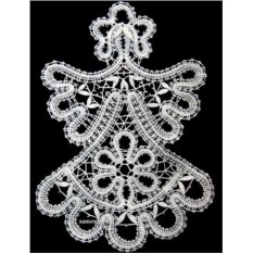 Сувенир Матрешка (вологодское кружево)