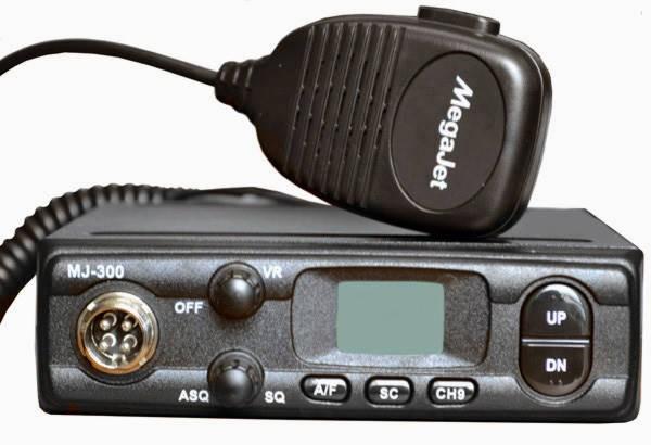 Аавтомобильная радиостанция MegaJet MJ-300 Plus