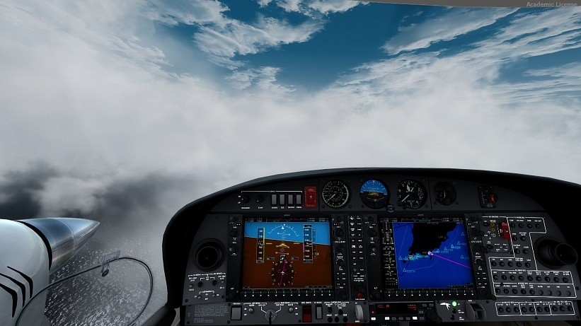 Полет на авиасимуляторе Корпоративный час