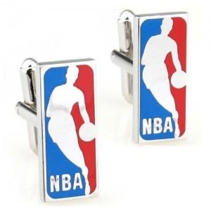 Запонки NBA (синий/красный)