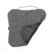 Серая шерстяная сидушка Comfort