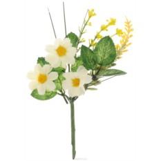 Декоративное украшение Астра Белые цветы