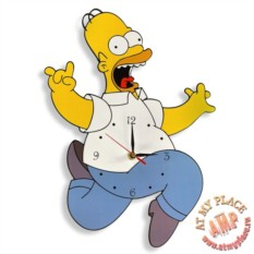 Настенные часы Гомер Симпсон