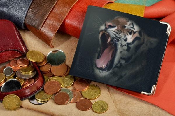 Портмоне Зевающий тигр