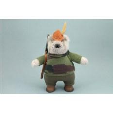 Авторская игрушка Медведь – охотник