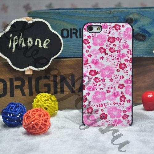 Чехол для Iphone 4, 4S Pink Flowers