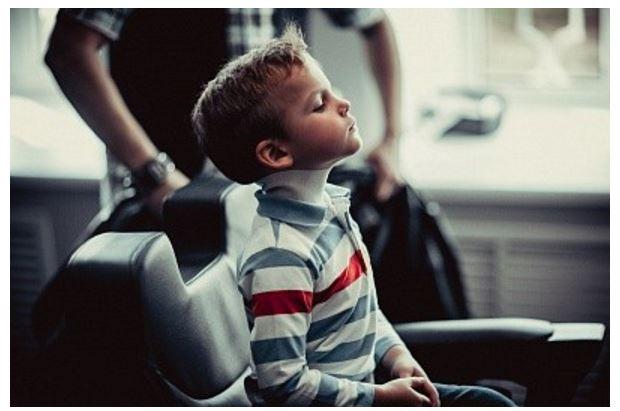 Детская стрижка для мальчика