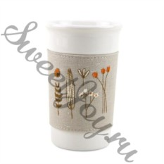 Кружка Embroidery Beige
