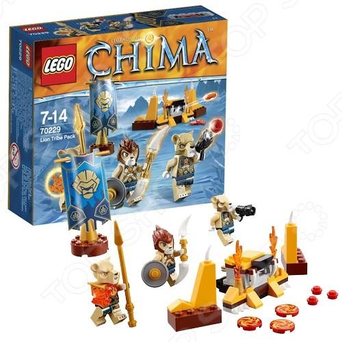 Конструктор - Lego - Лагерь клана Львов