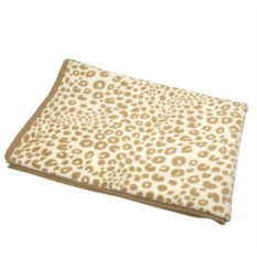 Плед Orion Cotton Leopard Camel 150х200 см