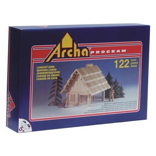 Деревянный конструктор ArchaProgram. Модель Охотничий домик