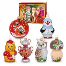 Пдарочный набор ёлочных игрушек