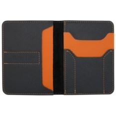 Автобумажник Hakuna Matata (цвет: черный с оранжевым)