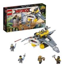 Конструктор Lego Ninjago Бомбардировщик. Морской дьявол