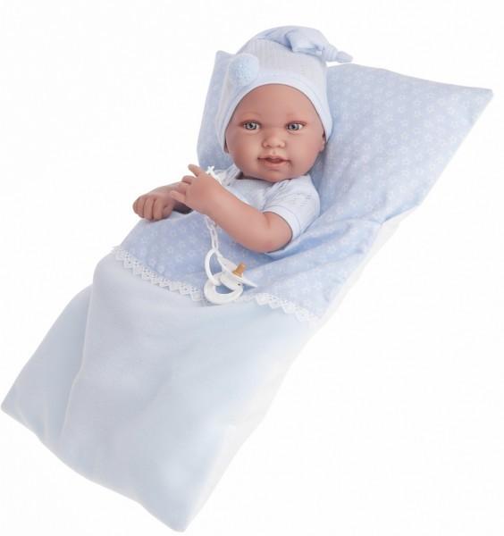 Кукла-младенец Мальчик Пипо в голубом