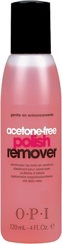 Жидкость для снятия лака без ацетона, 120 ml, OPI