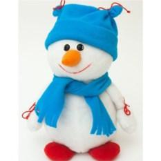 Игрушка мягкая Снеговик Морковкин