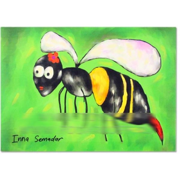 Холст «Пчела»