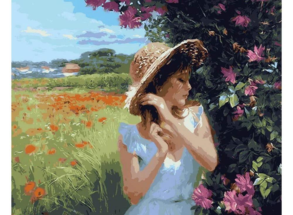 Картины по номерам «Солнечный день в деревне»