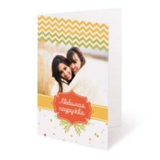 Открытка с вашим фото «Любимая подружка»