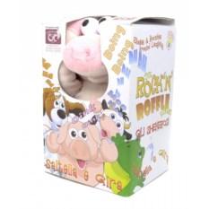 Интерактивная мягкая игрушка Смеющаяся свинка